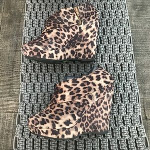 Shoes - Animal Print Booties